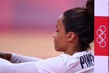 Allison Pineau déçue de la défaite des Bleues face à la Russie samedi.