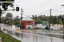 Les routes ont été coupées dans tout l'État de Nouvelle-Galles du Sud.