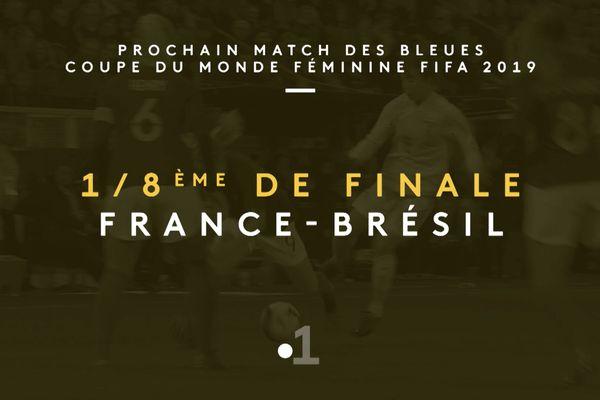 Coupe du monde féminine: France-Brésil en huitièmes de finale demain en direct