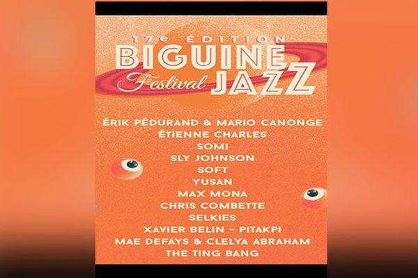 affiche Biguine Jazz
