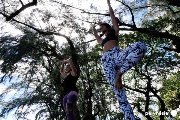 vaimiti Teiefitu challenge yoga