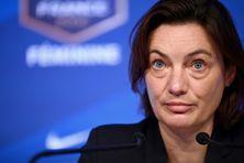 Corinne Diacre, sélectionneuse de l'équipe féminine de France.