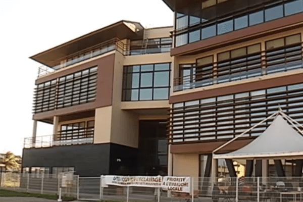 Le siège de EDF Guyane
