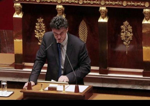 Le député breton Paul Molac à l'Assemblée, en 2015.