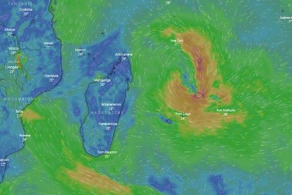 risque formation tempête tropicale dimanche 29 décembre 251219