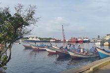 Le port de pêche de Guiria au Vénézuela, le point de départ des naufragés.