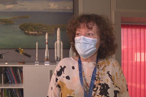 Marie-Anne Clair directrice du CNES-CSG