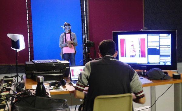Festival cinéma jeunesse La première séance atelier photomontage (octobre 2017)