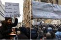 Des centaines de manifestants devant l'ambassade de Libye à Paris pour dire non à l'esclavage