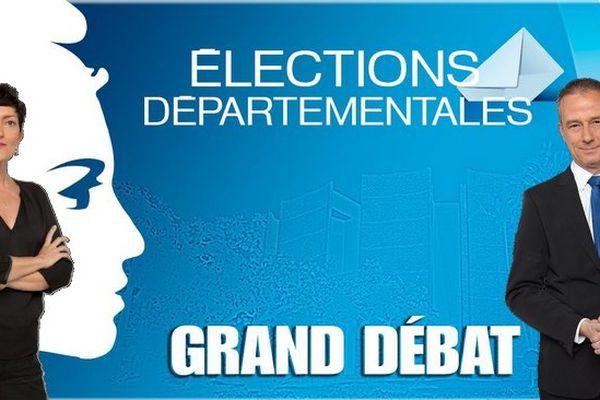 Le grand débat : élections départementales