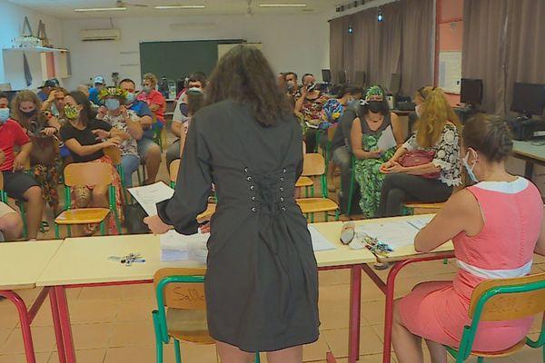 Rentrée des professeurs, préparation au COVID-19