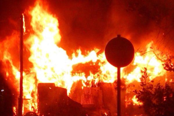 Incendie au Moule 11/09/14