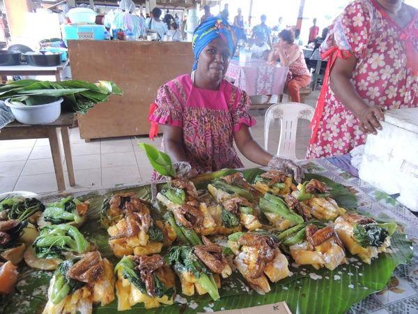 Marché de Port-Vila Vanuatu