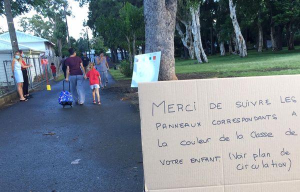 Reprise école coronavirus Maternelle les dauphins Vallon Dore