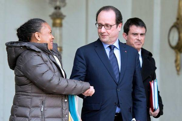 Taubira Hollande