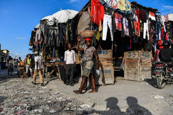 marché à Port-au-Prince