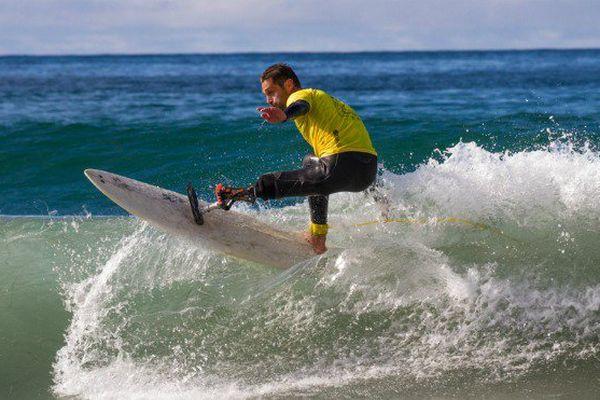 Handi surf : victime d'une attaque de requin à La Réunion en 2011, Eric Dargent devient vice-champion du monde