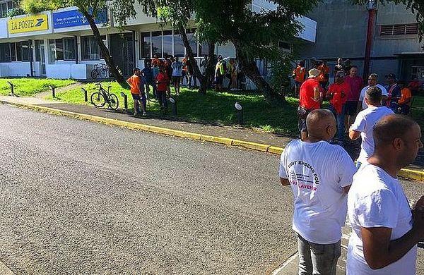 La poste de La Réunion en grève 5 mars 2020