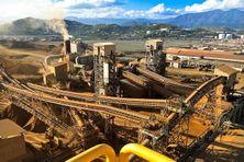 L'usine de ferronickel SLN (ERAMET) de Doniambo en Nouvelle-Calédonie