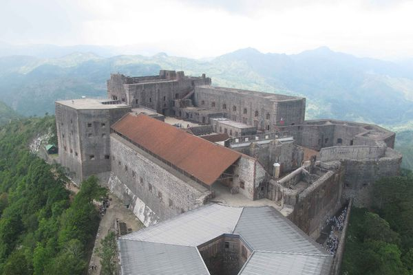 La citadelle du roi Christophe en Haïti