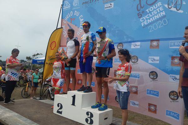 Cyclo Tour podium prologue