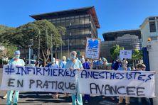 Grève infirmiers anesthésistes