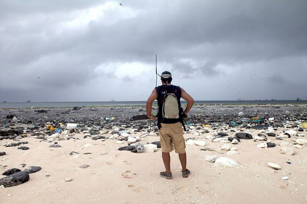 "Atoll de Clipperton, photo prise lors de la mission ""Passion 2015"""