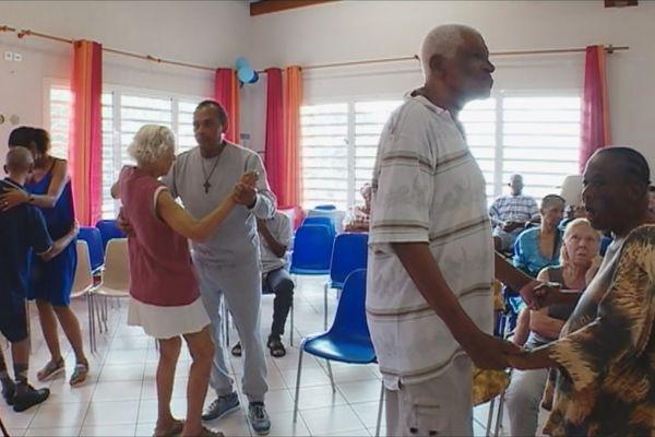 Pensionnaires maison de retraite