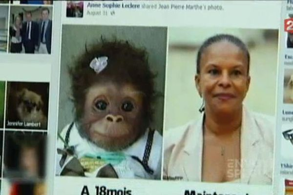 Page facebook de la candidate FN Anne-Sophie Leclere