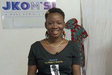 Josiane Komsi créatrice de mode, réalisatrice de la robe de Miss Guyane