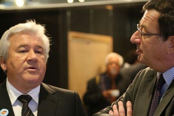 Harold Martin et Bertrand Madelin
