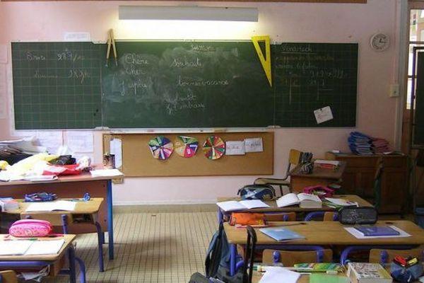 salle de classe école