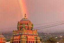 Le temple de Saint-Gilles-les-Hauts à La Réunion.