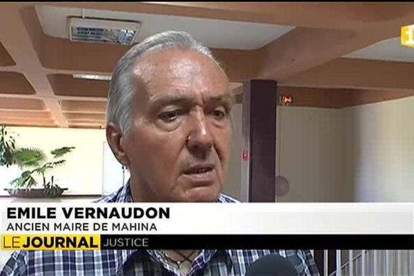 Report du procès d'Emile Vernaudon et de Joinville Pomare