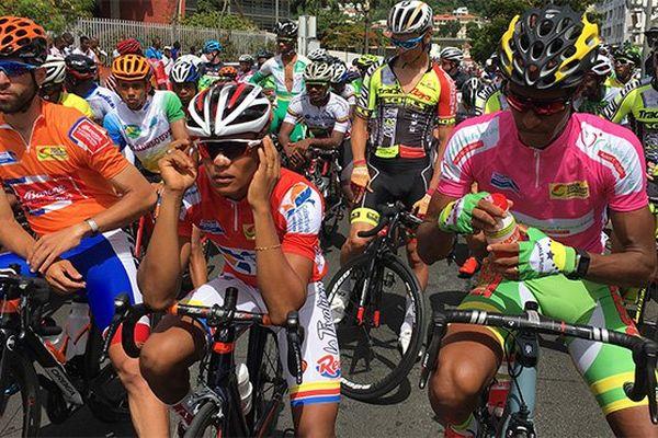 Cyclisme départ étape tour 2017