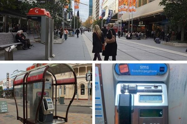 Telstra Australie cabines téléphoniques