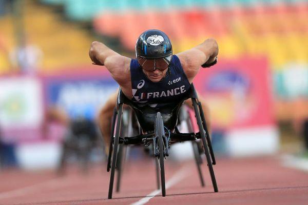 Pierre Fairbank a gagné huit médailles aux Jeux paralympiques.