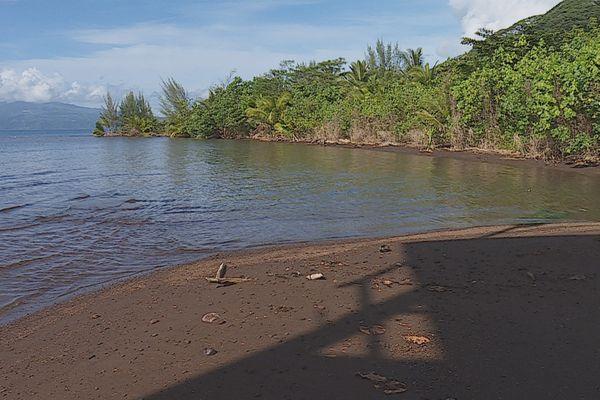 boue dans les rivières de Hitiaa