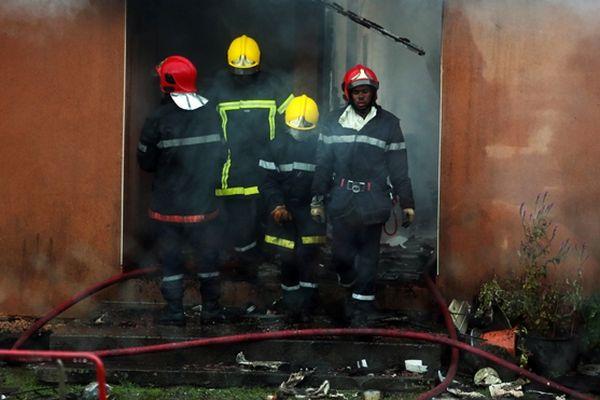 Les pompiers n'ont pu que constater le décès d'un homme d'une cinquantaine d'années