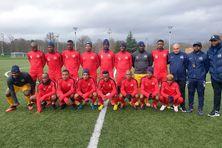 Le FC Mtsapéré à l'entrainement à Clairefontaine