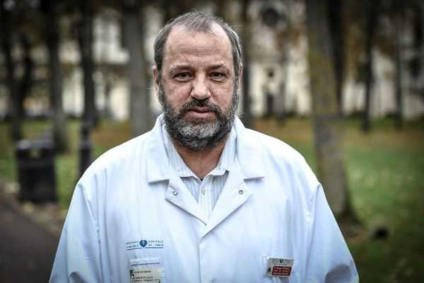 Renaud Piarroux, chef du service de parasitologie à l'hôpital de Pitié-Salpêtrière à Paris