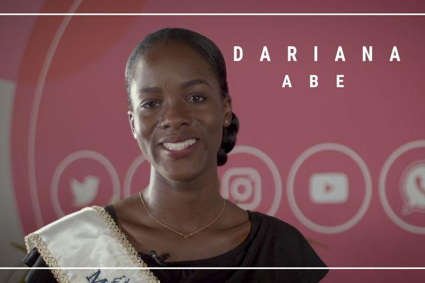 Dariana Abé Miss Guyane 2019