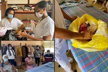 L'association les Ami du Centre Emma Ventura travaille avec le personnel soignant de l'établissement.