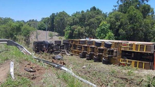 Accident de camion à Kaala-Gomen