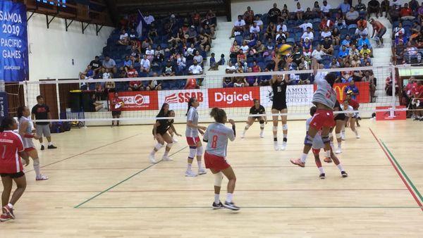 Samoa 2019, victoire des volleyeuses de Calédonie contre les Samoa américaines