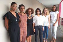 La nouvelle équipe en charge de l'élection de Miss Guyane.