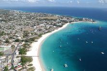 Bridgetwon, capitale de la Barbade.