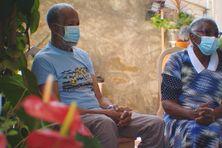 Georges et Marie-Louise Erin, à Nouméa, en septembre 2021.