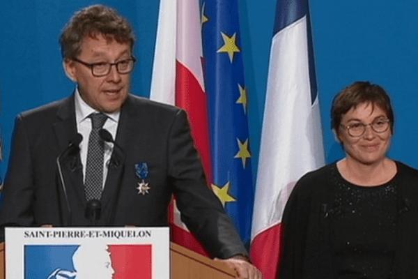 Discours Jean d'Amour et Annick Girardin