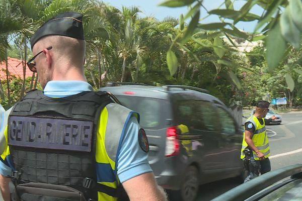 Contrôle des gendarmes